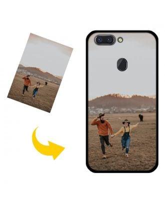 Capa de telefone OPPO R15 personalizada com suas fotos, textos, design, etc.
