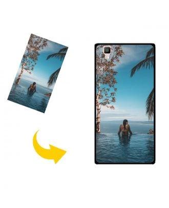 Personaliseret OPPO R7s telefonhylster med dine egne fotos, tekster, design osv.