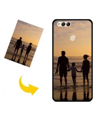 Prispôsobené puzdro na telefón HUAWEI Honor 7X s vašimi fotografiami, textami, dizajnom atď.