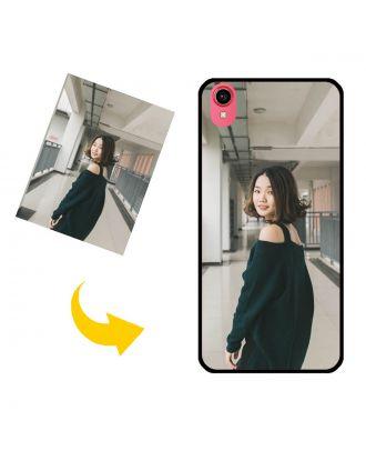 Tilpasset Vivo Y91 telefonveske med ditt eget design, bilder, tekster osv.