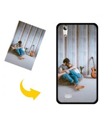 Capa de telefone personalizada de Vivo Y18 com suas próprias fotos, textos, design, etc.