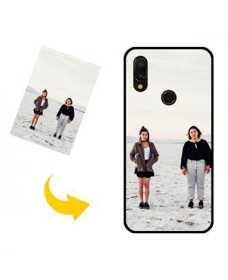 Capa de telefone personalizada Xiaomi Redmi 7 com suas próprias fotos, textos, design, etc.
