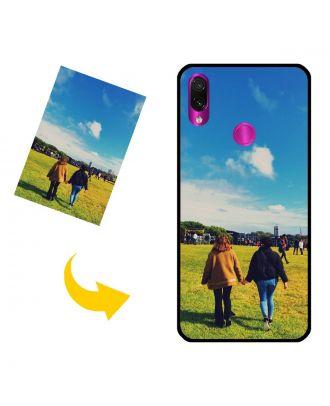Capa de telefone personalizada Xiaomi Redmi Note 7 com suas próprias fotos, textos, design, etc.