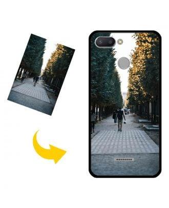 Prispôsobené puzdro na telefón Xiaomi Redmi 6 s vlastnými fotografiami, textami, dizajnom atď.