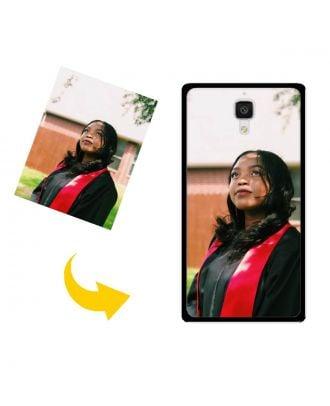 Capa de telefone personalizada Xiaomi 4 com suas próprias fotos, textos, design, etc.