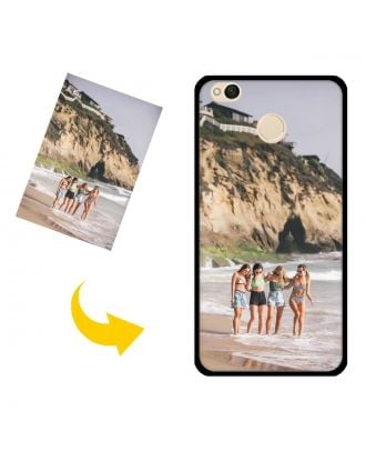 Customized Xiaomi Redmi 4X Phone Case with Your Own Photos, Texts, Design, etc.