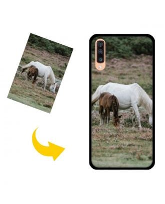 Personalized Samsung Galaxy A70 Phone Case with Your Own Photos, Texts, Design, etc.