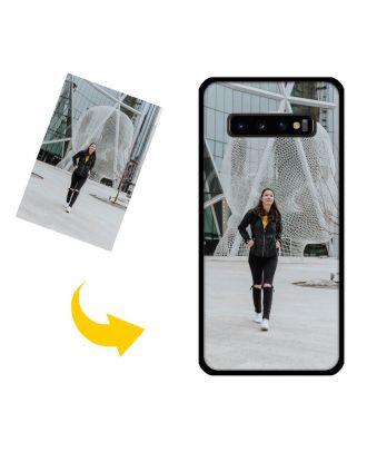 Personaliseret Samsung Galaxy S10 Plus-etui med dine fotos, tekster, design osv.
