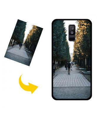 Personalized Samsung Galaxy A6 plus Phone Case with Your Own Design, Photos, Texts, etc.