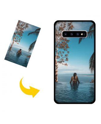 Personalized Samsung Galaxy S10 Phone Case with Your Own Design, Photos, Texts, etc.