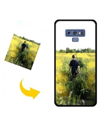 Custom Samsung Galaxy Note 9 Phone Case with Your Photos, Texts, Design, etc.