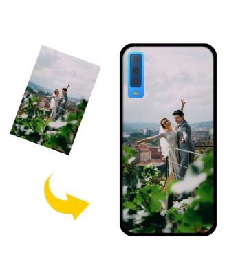 Custom Made Samsung Galaxy A750 / A7 (2018) Phone Case with Your Own Photos, Texts, Design, etc.