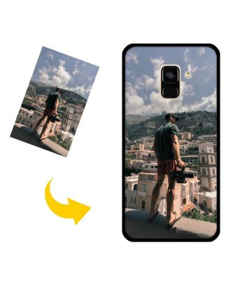 Personalized Samsung Galaxy A8 Plus Phone Case with Your Own Design, Photos, Texts, etc.