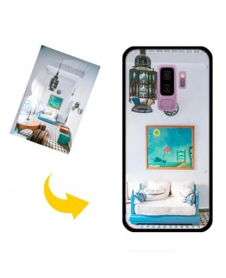 Custom Made Samsung Galaxy S9 Plus Phone Case with Your Photos, Texts, Design, etc.