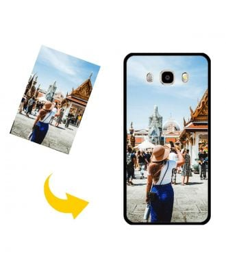 Capa de telefone personalizada do Samsung Galaxy J5 2016 com seu próprio design, fotos, textos, etc.