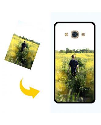 Індивідуальний чохол для телефону Samsung Galaxy J3 Pro з вашими фотографіями, текстами, дизайном тощо.