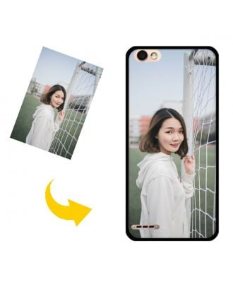 Custom Made TECHNO F3 Phone Case with Your Own Photos, Texts, Design, etc.