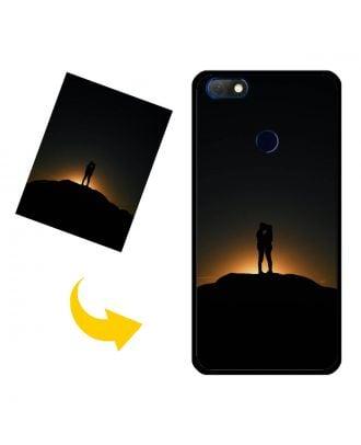 Capa de telefone personalizada Infinix Note 5 -X604 com suas próprias fotos, textos, design, etc.