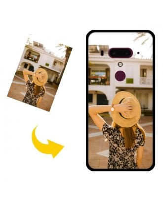 Personalized HTC U12 Plus Phone Case with Your Photos, Texts, Design, etc.