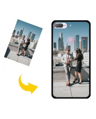 Carcasa de teléfono HTC D12 plus personalizada con sus propias fotos, textos, diseño, etc.
