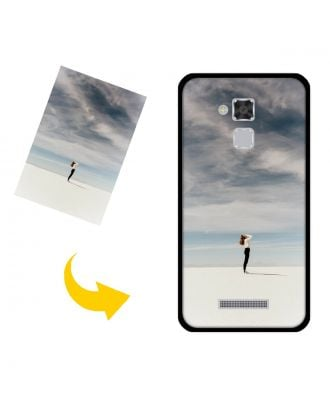 Custom ASUS ZenFone 3S Max /ZC520TL Phone Case with Your Own Photos, Texts, Design, etc.