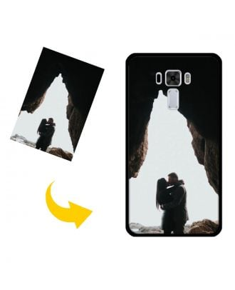 Customized ASUS ZenFone 3 Laser /ZC551KL Phone Case with Your Own Design, Photos, Texts, etc.