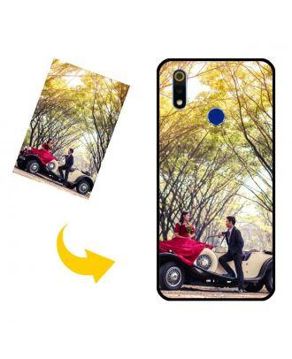 Capa de telefone personalizada do OPPO Realme 3 com suas próprias fotos, textos, design, etc.