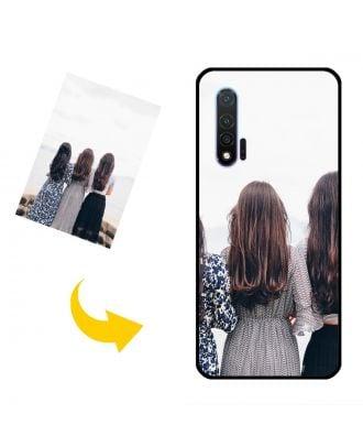 Vlastné puzdro na telefón Huawei Nova 6 s vlastnými fotografiami, textami, dizajnom atď.