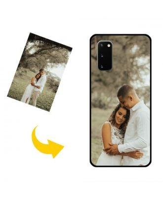 Prispôsobené puzdro na telefón Samsung Galaxy S20 s vlastnými fotografiami, textami, dizajnom atď.