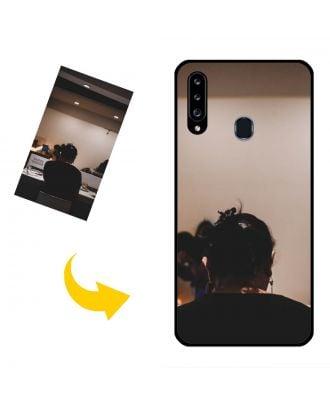 Vlastné puzdro na telefón Samsung Galaxy A20s s vlastnými fotografiami, textami, dizajnom atď.