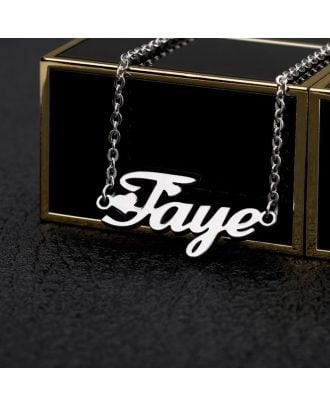 Personalized Gold / White Gold / Rose Gold Plated Name Anklet