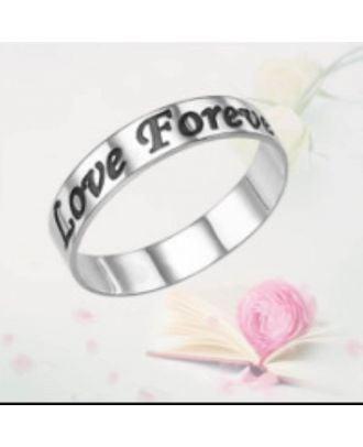 Na mieru vyrobený medený / mincový striebro s gravírovaným prsteňom 925