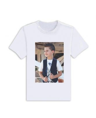 Personalized T-Shirts | Kids' T Modal Shirts - One Side Printing