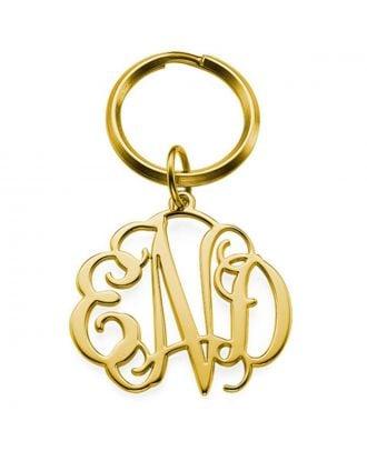 Corrente chave feita sob encomenda da prata esterlina 925