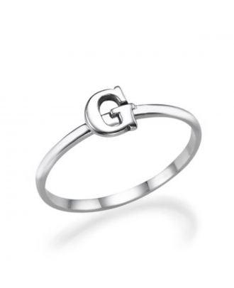 Custom Copper / Sterling Silver 925 Monogram Initial Earrings For Girls