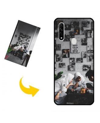 Räätälöidyt OPPO A8 Puhelinlaukku, jossa oma mallisi, valokuvat, tekstit jne.