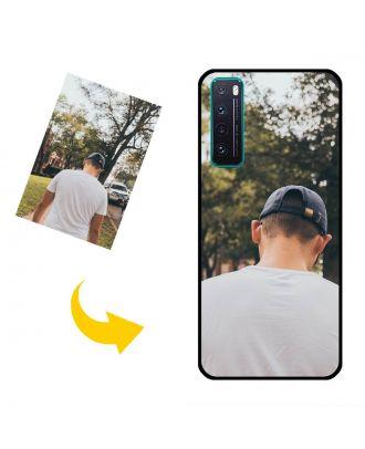 Na zakázku HUAWEI Nova 7 Puzdro na telefón s vlastným dizajnom, fotografiami, textami atď.