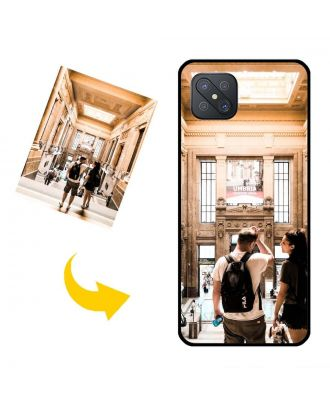 Brugerdefinerede OPPO A92S Telefonkasse med dine fotos, tekster, design osv.