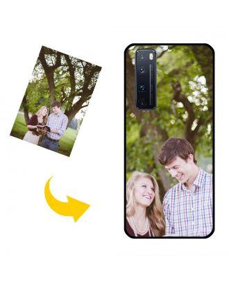 zvyk HUAWEI Nova 7 Pro Puzdro na telefón s vlastnými fotografiami, textami, dizajnom atď.