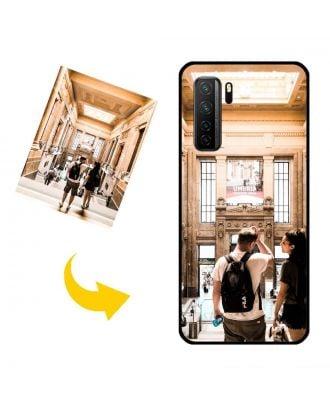 Prispôsobené HUAWEI Nova 7 SE puzdro na telefón s vlastnými fotografiami, textami, dizajnom atď.