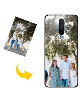 Skreddersydd Redmi K30 Telefonveske med egne bilder, tekster, design osv.