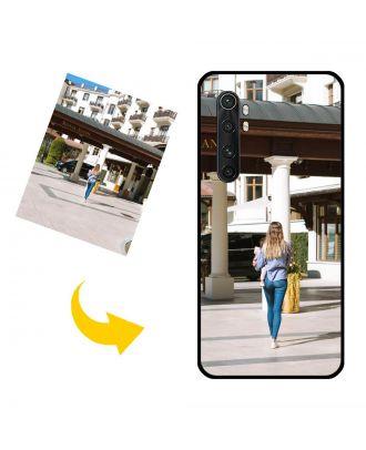 Özelleştirilmiş Xiaomi Note 10 Lite Kendi Fotoğraf, Metin, Tasarım vb.Ile Telefon Kılıfı.
