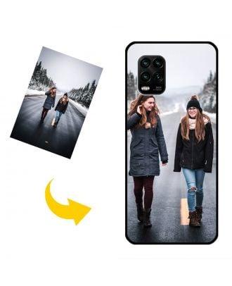 Користувальницькі Xiaomi 10 Youth Edition Корпус телефону із власним дизайном, фотографіями, текстами тощо.