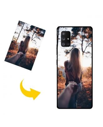 Özelleştirilmiş Samsung Galaxy A Quantum Kendi Fotoğraf, Metin, Tasarım vb.Ile Telefon Kılıfı.