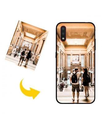 Tilpasset Samsung Galaxy A01 Telefonveske med dine bilder, tekster, design osv.