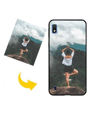 Custom Made Samsung Galaxy A10 Phone Case with Your Own Design, Photos, Texts, etc.