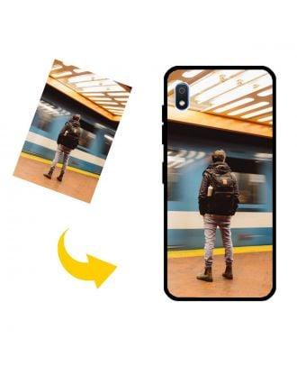 Tilpasset Samsung Galaxy A10E Telefonveske med dine bilder, tekster, design osv.