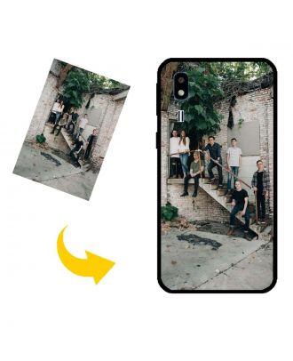 Özelleştirilmiş Samsung Galaxy A2 Core Kendi Fotoğraf, Metin, Tasarım vb.Ile Telefon Kılıfı.