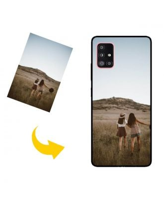 Hecho a medida Samsung Galaxy A51 5G Caja del teléfono con sus fotos, textos, diseño, etc.
