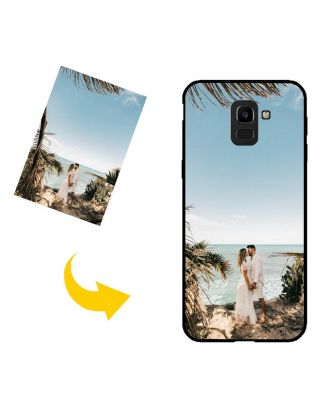 Налаштовані Samsung Galaxy A6 2018 Корпус телефону із власним дизайном, фотографіями, текстами тощо.